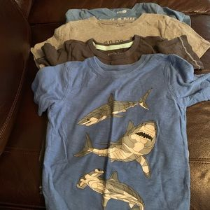 Other - Lot of 4 boys short sleeve tees, size 5/6